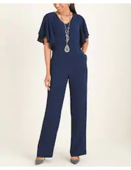 Ruffle Sleeve Jumpsuit by Chico's