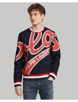 Double Knit Logo Pullover by Ralph Lauren