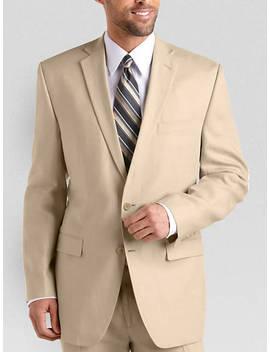 Calvin Klein Tan Linen Suit Separates Coat by Mens Wearhouse