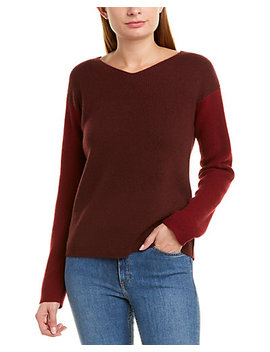 Vince Colorblocked Wool & Cashmere Blend Sweater by Vince