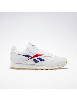 Classic Leather Vector Shoes by Reebok