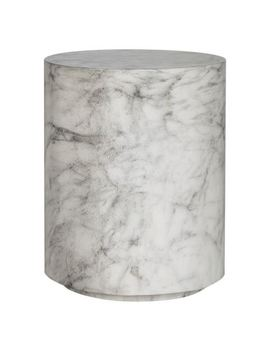 Pila Accent Table, Marble Effect by Freedom