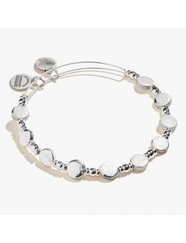 Coin Metal Beaded Expandable Bangle by Alex And Ani