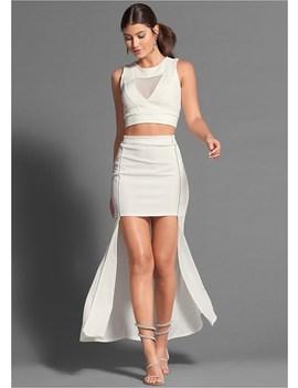 Pleated Detail Skirt by Venus