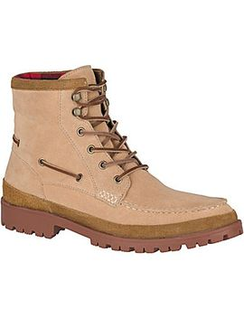 Men's Authentic Original Leather Lug Boot by Sperry