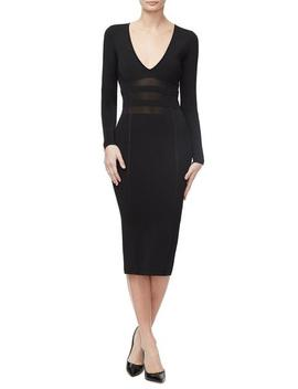 The Low Down Knit Dress                 by Good American