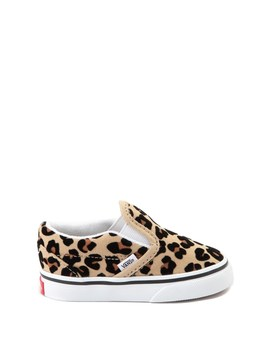 Vans Slip On Skate Shoe   Baby / Toddler   Leopard by Vans
