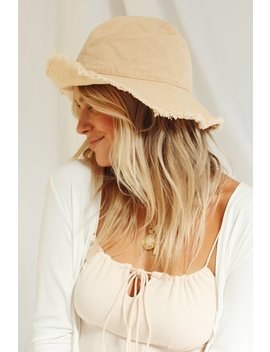 Sunset Views Bucket Hat // Sand by Vergegirl