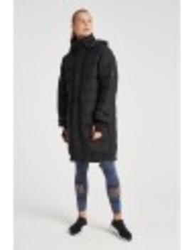Long Padded Jacket by Adidas By Stella Mccartney