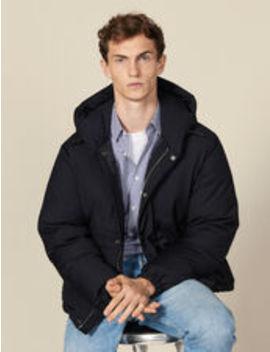 Short Padded Jacket With Hood by Sandro Eshop