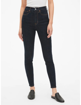 Sky High True Skinny Jeans With Secret Smoothing Pockets by Gap