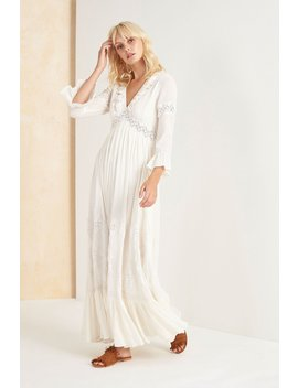 Zoayla Maxi Dress   Vintage Ivory by Tigerlily