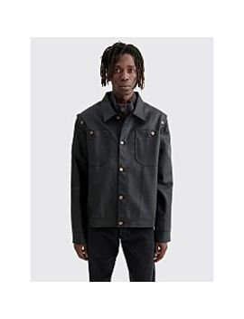 Telfar Pu Detachable Jacket Black by Très Bien