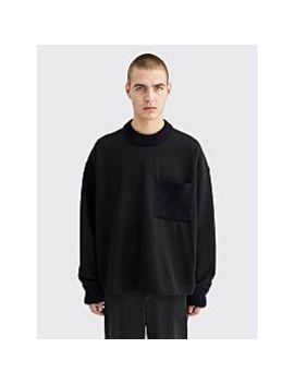 Jil Sander Jersey Knit Sweatshirt Black by Très Bien