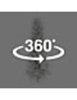Holiday Living 7.5 Ft Pre Lit Essex Fir Slim  Flocked Artificial Christmas Tree With 400 Constant Warm White Led Lights by Lowe's