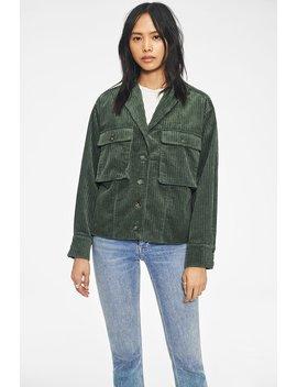 Sam Jacket   Green by Anine Bing