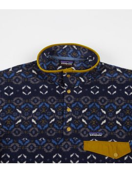 Patagonia Synchilla Snap T Pullover Jacket   Tundra Cluster: New Navy by Patagonia