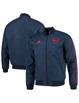 Arsenal Adidas Team Anthem Full Zip Jacket   Navy by Adidas