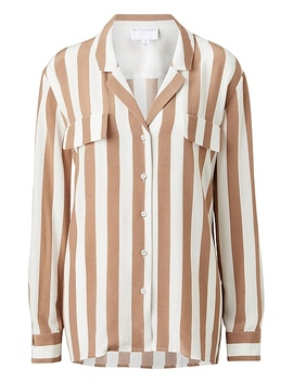 Stripe Blouse by Witchery