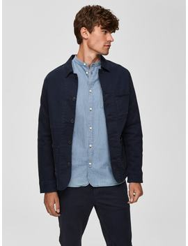 Transitional   Jacket\N Cropped   Trousers\N\N Loose Fit   Over Shirt\N\N Transitional   Jacket\N\N Suede   Derby Shoes by Selected