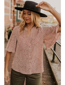 Alvesta Print Blouse by Roolee