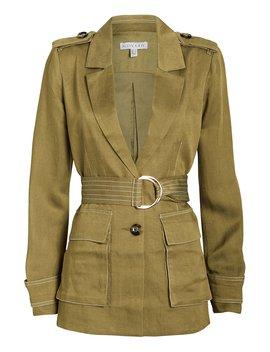 Ellington Twill Belted Cargo Jacket Ellington Twill Belted Cargo Jacket by Shona Joy Shona Joy