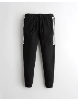 Skinny Terry Jogger Pants by Hollister