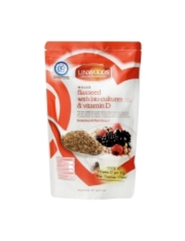 Linwoods Milled Flaxseed With Biocultures & Vitamin D 360g by Linwoods Milled Flaxseed With Biocultures & Vitamin D 360g