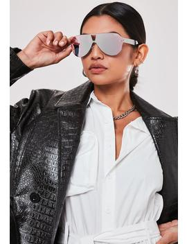 Quay Australia X Funboy Stay Afloat Pink Sunglasses by Missguided