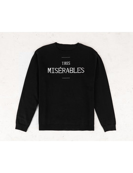 Miserables Knit Jumper by Disturbia