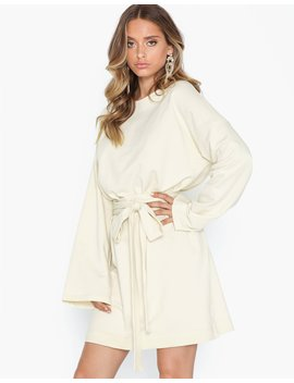 Wrapped Sweat Dress by Nly Trend