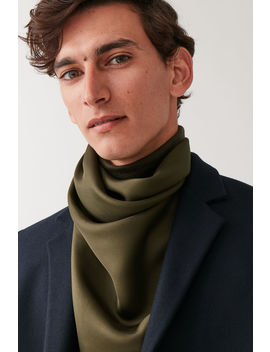 Mulberry Silk Neckerchief by Cos