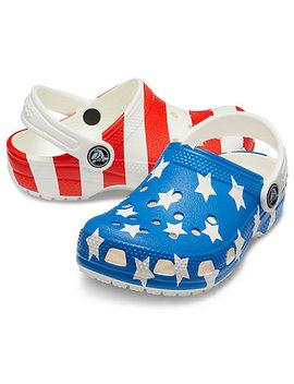 Kids' Classic American Flag Clog Kids' Classic American Flag Clog by Crocs