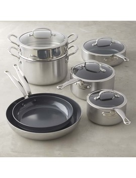 Green Pan™ Minerals Ceramic Nonstick Cookware Set, 11 Piece by Williams   Sonoma