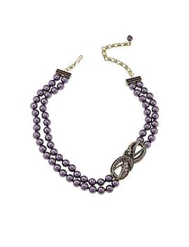 """<Span Class=""""Callout Exclusive"""">Exclusive!</Span>   Heidi Daus """"Knot Now"""" Multi Strand Station Necklace by Heidi Daus"""