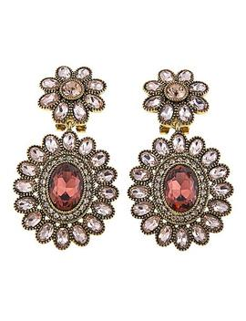 """<Span Class=""""Callout Exclusive"""">Exclusive!</Span>   Heidi Daus """"Dazzling Delight"""" Crystal Drop Earrings by Heidi Daus"""