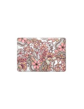 Boho Chic Red Brown Floral Handdrawn Pattern By Girly Trend by Casetify