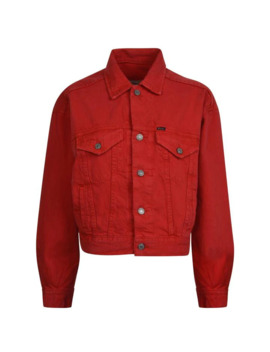 Cropped Denim Jacket by Polo Ralph Lauren