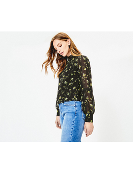 Daffodil Lace Trim Top by Oasis