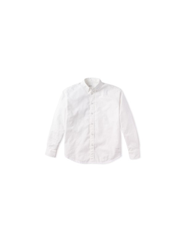 The Giant Shirt: Captain Oxford And The Lonely Buttons Band. Type A, Version 11. Optic White. by Entireworld