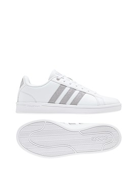 Cloudfoam Advantage Leather Sneaker by Adidas