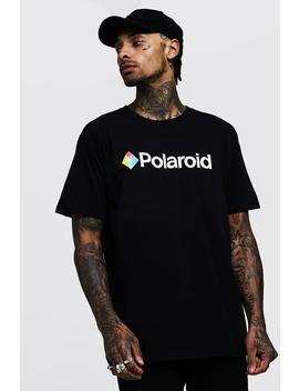 Polaroid Oversized License T Shirts by Boohoo