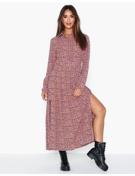 Long Sleeve High Neck Dress by Glamorous