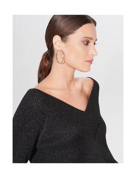Połyskujący Sweter Z Dekoltem V by Mohito