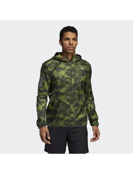 Own The Run Camouflage Jacket by Adidas