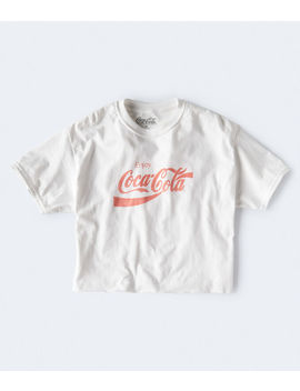 Coca Cola Cropped Graphic Tee by Aeropostale