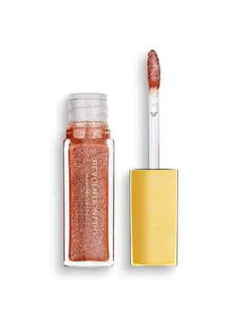 Revolution Pro All That Glistens Hydrating Lipgloss Suede by Superdrug