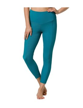 Ribbed Sweetheart 7/8 Yoga Leggings by Yoga Outlet