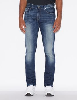J13 Slim Fit Jeans by Armani Exchange