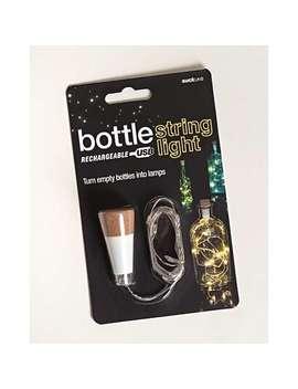 Rechargeable Bottle String Light by Olivar Bonas